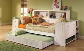 board twin bed with bookcase headboard inspirations reclaimed