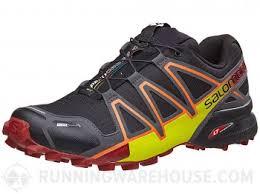Salomon Speedcross 4 Cs Men U0027s Shoes Black Magnet Red