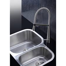 16 Gauge Kitchen Sink by Ruvati 16 Gauge Steel Double Bowl 29 Inch Undermount Kitchen Sink