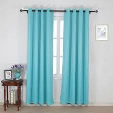 turquoise thermal insulated blackout curtains 524 www