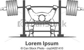 Powerlift Bench Vector Clip Art Of Bench Press Powerlifting Powerlifting Bench