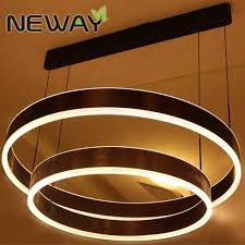 Led Lighting Fixture Manufacturers Led Ring Suspension Direct Indirect Lighting Pendant Light