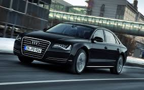 black audi car hd background audi a8 black side front view car luxury wallpaper