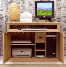 Hide Away Computer Desk Mobel Solid Oak Office Furniture Hideaway Computer Desk And Filing