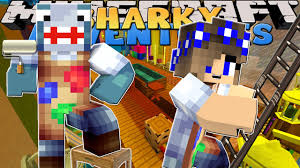 Game My New Room - minecraft adventures sharky u0026 scuba steve my new room in