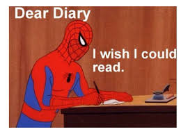 Best Spiderman Memes - dear diary i wish i could read the avengers marvel pinterest