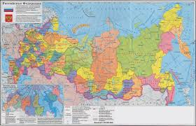 european russia map cities large political and administrative map of russia with cities jpg