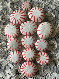 peppermint candy painted rocks 2ca by godsglitter on etsy