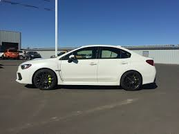 subaru sti 2016 white new 2018 subaru wrx 4 door car in lethbridge ab 185154
