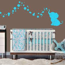 stickers elephant chambre bébé déco elephant chambre bebe exemples d aménagements