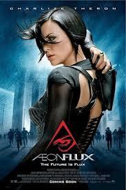 aeon flux 27 x 40 movie poster charlize theron i ebay