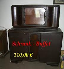 schrank buffet anrichte stubenbuffet buffetschrank holz dunkel