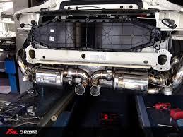 modified porsche gt3 porsche 991 gt3 valvetronic exhaust system fi exhaust