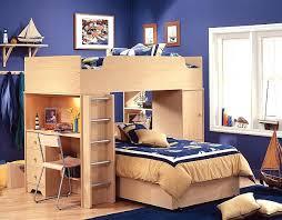 bureau superposé grand lit superpose idee lit mezzanine avec bureau 1 grand lit