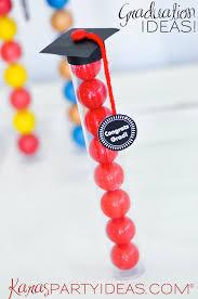 graduation favors to make kara s party ideas graduation cap gumball gifts kara s party