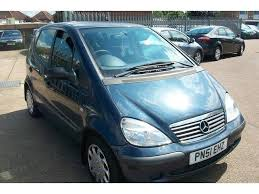 mercedes a class automatic for sale used mercedes a class 2001 a140l 5dr blue for sale in