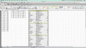 how to make anova table in excel anova one way using excel mac statplus mac youtube