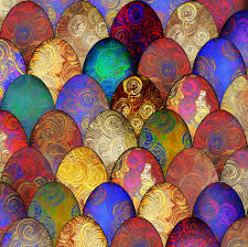 decorative eggs for sale decorative eggs after fabergé fabric by su g for sale on