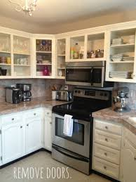 remove kitchen cabinet doors kitchen cabinet ideas