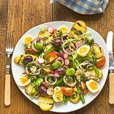 cuisine nicoise vegetarian salade niçoise the circus gardener s kitchen