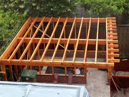 a frame roof wood the wooden frame is wet and it s raining should i mount the