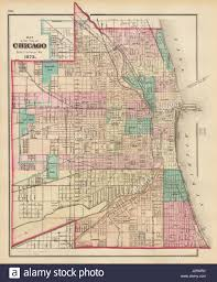 World Map Chicago by Map Of Chicago Stock Photos U0026 Map Of Chicago Stock Images Alamy