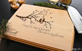 personalized engraved cutting board cat tree personalized engraved cutting board bw cabanyco