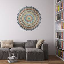 african mandala vinyl wall art sticker for home decor interior