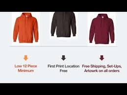 hoodies custom screen printed cheap silk screened pullover