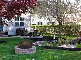 backyard landscape renovation c e pontz sons landscape contractors