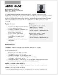 Bookkeeper Resume Sample by Bookkeeper Resume Contents Layouts U0026 Templates Resume Templates