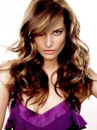 womens long hairstyles with bangs hairstyles with side bangs long