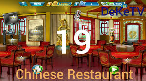 cooking fever chinese restaurant level 19 with 3 stars youtube