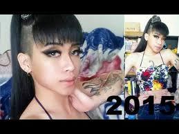 swag haircut 2015 tinanguyen94 happy new year 2015 swag girl side haircut style