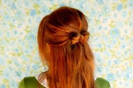 in hair bow how to style a hair bow a beautiful mess