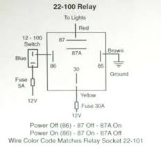 relay 20 40 amp relay hella k four doghouse repair