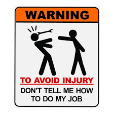 To Do Stickers Don U0027t Tell Me How To Do My Job Funny Stickers Warning