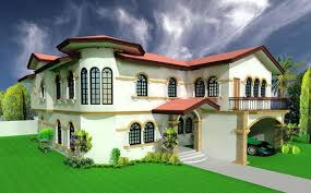 modern mixed roof type attractive 3d home design kerala 3d hub 3d