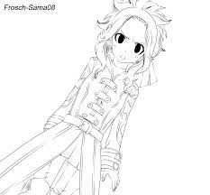 fairy tail 428 levy macgarden lineart by frosch sama08 on deviantart