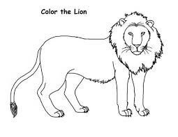 draw lion coloring draw lion coloring