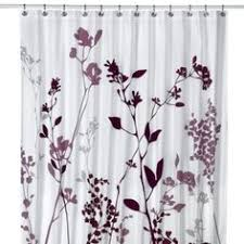 light purple shower curtain for second bathroom purple and black maybe a black shower curtain
