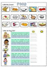 english teaching worksheets food quiz food pinterest quizes