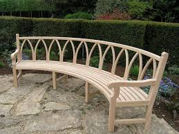 Concrete Curved Bench - bench awesome curved benches foter in outdoor ordinary outstanding