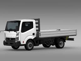 truck mitsubishi canter 3d mitsubishi fuso canter guts tipper 2015 cgtrader