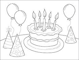 coloring pages for birthdays printables birthday coloring pages to print free printable happy birthday