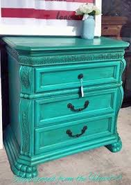 patina and van brown nightstand general finishes design center