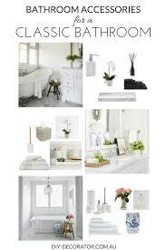 Bathroom Accessories Au by Bathroom Accessories For Classic Bathrooms Diy Decorator