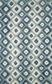 Ethan Allen Oriental Rugs Floors U0026 Rugs Blue White With Diamond Ikat Rug For Modern Living Room