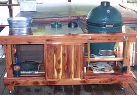 Green Egg Table by Big Green Egg Table With Storage By Sektormedia Grilling And