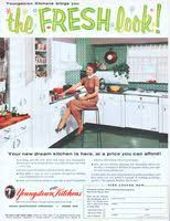 youngstown kitchen cabinets by mullins youngstown steel kitchens 1948 ad picture building materials